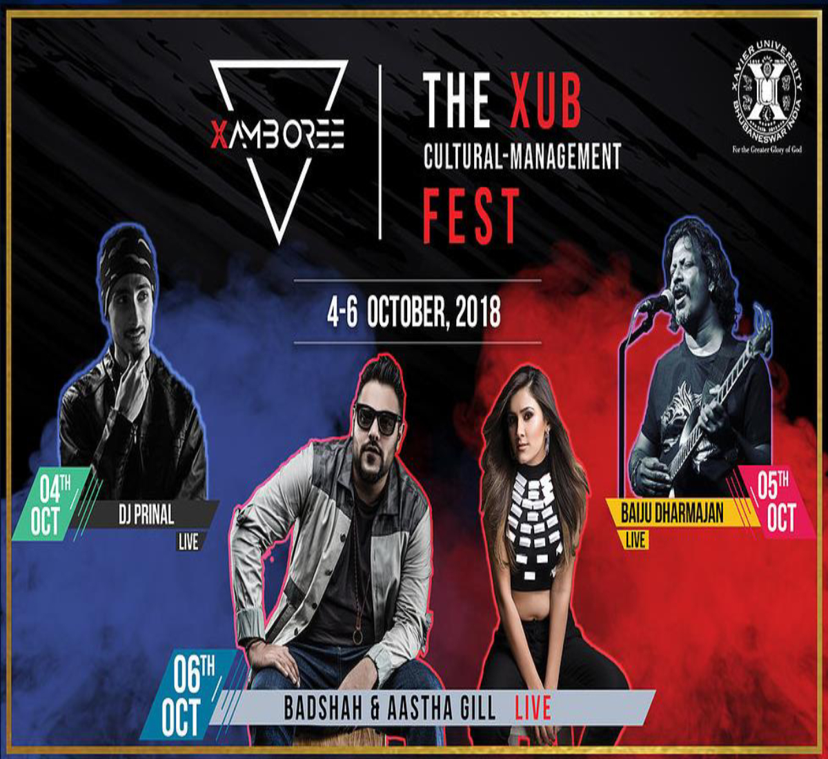 Xamboree–The flagship event of Xavier University, Bhubaneswar